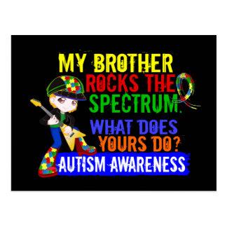 Rocks Spectrum Autism Postcard