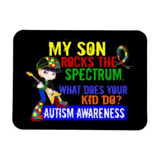 Rocks Spectrum Autism Son Flexible Magnet