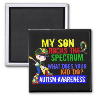 Rocks Spectrum Autism Son Magnets
