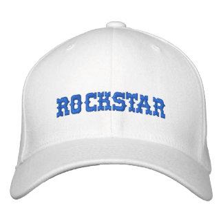 ROCKSTAR EMBROIDERED HAT
