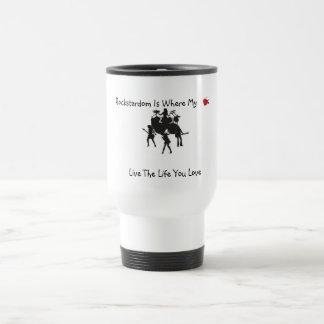 Rockstardom Where My <3 Is Mugs