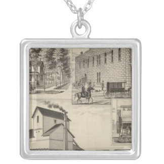 Rockwel County, Kansas Silver Plated Necklace