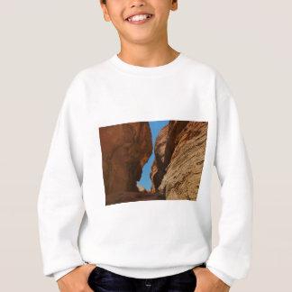 Rocky desert canyon. sweatshirt
