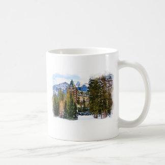 Rocky Mountain Castle - Banff Canada Coffee Mug