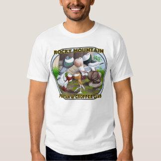 Rocky Mountain Club Logo Tshirts