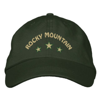 Rocky Mountain National Park Embroidered Hats