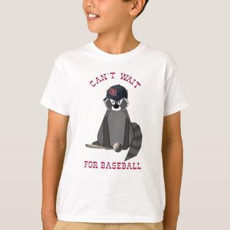 Rocky-Raccoon-Baseball T-Shirt