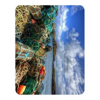 Rodel, Isle of Harris 11 Cm X 14 Cm Invitation Card