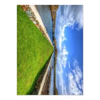 Rodel, Isle of Harris 14 Cm X 19 Cm Invitation Card