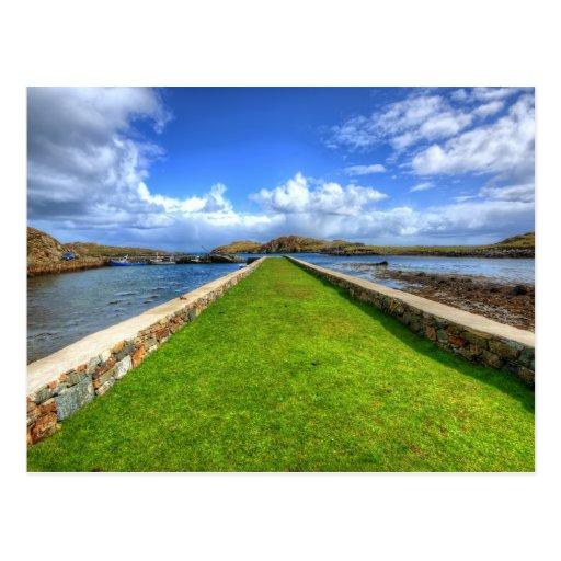Rodel, Isle of Harris Postcard