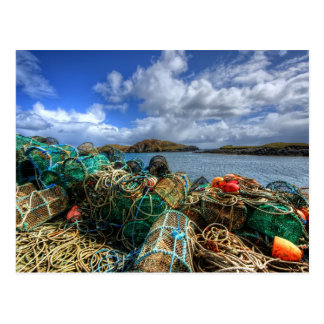 Rodel Isle of Harris Post Card