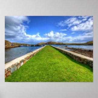 Rodel, Isle of Harris Print