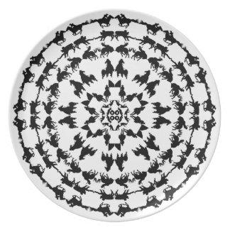 Rodeo Mandala Plate 1