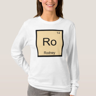 Rodney Name Chemistry Element Periodic Table T-Shirt