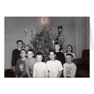 rodning christmas 1964 to 2006 card