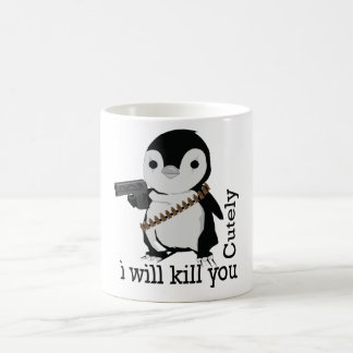 rogue penguin mug