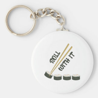 Roll With It Key Chain