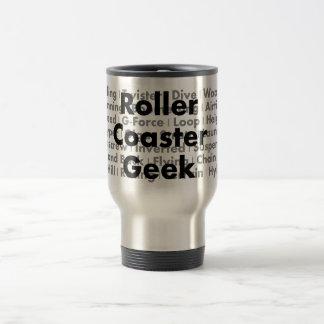 Roller Coaster Geek Travel Mug