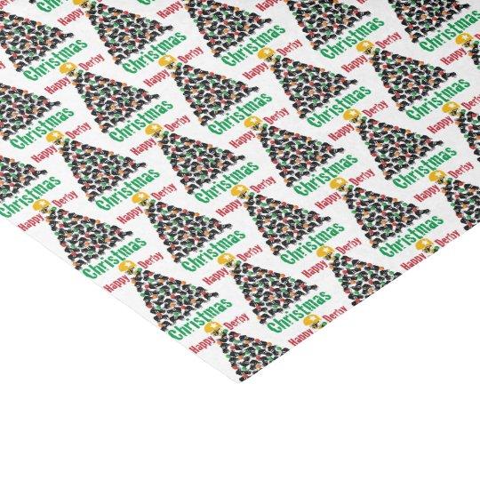 Roller Derby Christmas, Roller Skating Tissue Paper