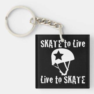 Roller Derby, Skate to Live Live to Skate, Jammer Key Ring
