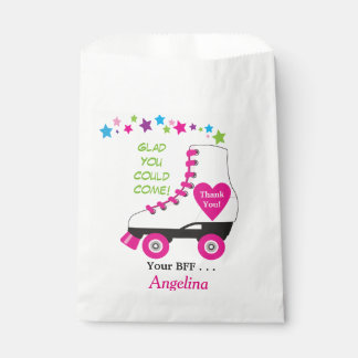 Roller Skate Favor or Party Bag for Goodies! Favour Bags