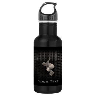 Rollerblading; Cool Black 532 Ml Water Bottle