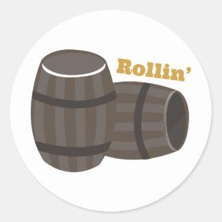 Rollin Classic Round Sticker