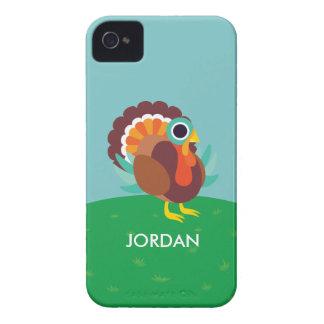 Rollo the Turkey Case-Mate iPhone 4 Case
