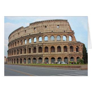 Roma coliseum card