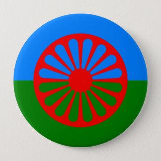 Roma, India 10 Cm Round Badge