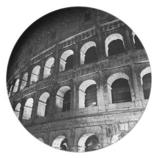 Roma Rome Italy Coliseum Colosseum Plate