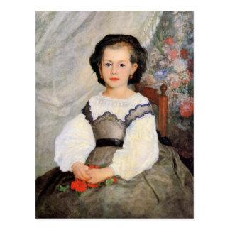 Romaine Lascaux by Renoir Postcard