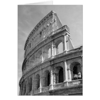 Roman Coliseum, Rome Italy Card