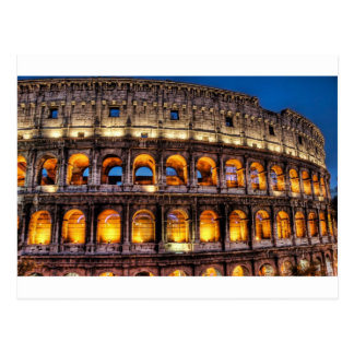 Roman Colosseum Postcard