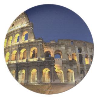 Roman Colosseum, Rome, Italy 2 Plate