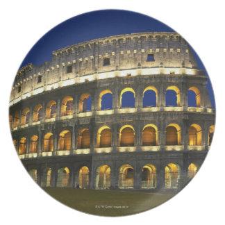 Roman Colosseum, Rome, Italy 3 Plate