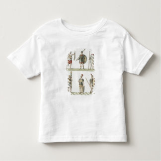 Roman Soldiers, detail from plate 2, Class 5 of Pa T Shirt