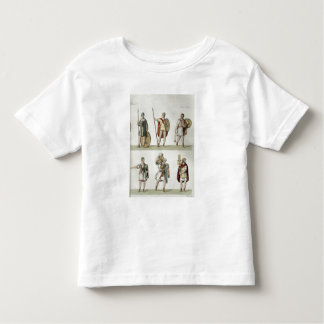Roman Soldiers, detail from plate 2, class 5 of Pa Toddler T-Shirt