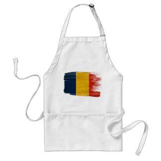 Romania Flag Apron