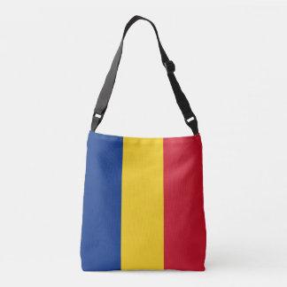Romania Flag Crossbody Bag