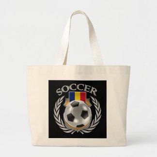 Romania Soccer 2016 Fan Gear Large Tote Bag