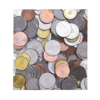 romanian coins notepad