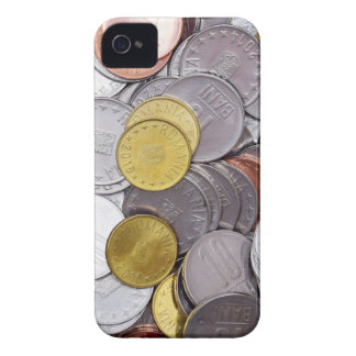 Romanian currency coins iPhone 4 case