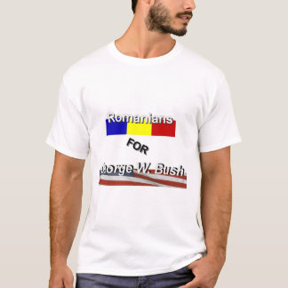 Romanians for Bush T-Shirt