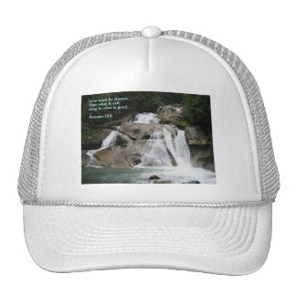 Romans 12:9  Waterfall Cap