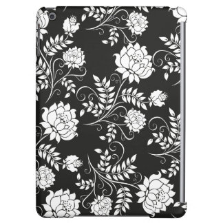 Romantic black and white Flowers