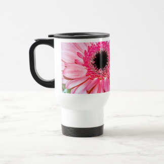 Romantic color Flowers Thank You Stainless Steel Travel Mug