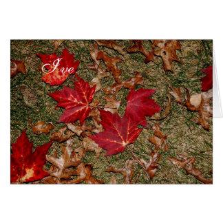 Romantic Fall Card 2