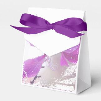 Romantic Floral Tent Favor Box Party Favour Boxes