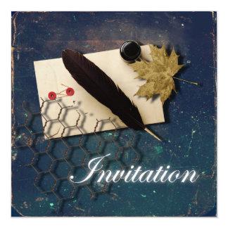 Romantic LoveLetter Vintage Wedding Invitation